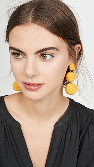 Rebecca De Ravenel Classic 3 Drop Earrings