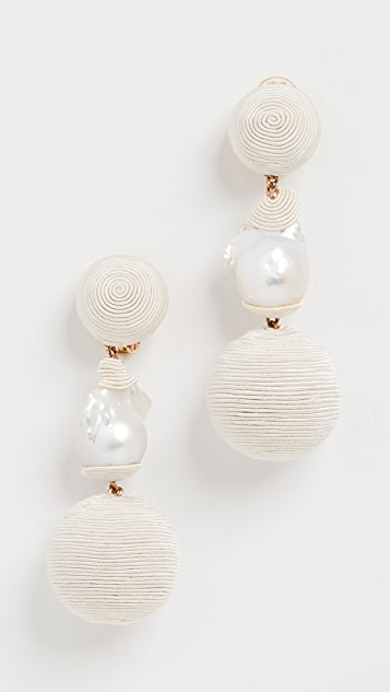 Rebecca De Ravenel Gem Bonbons Earrings