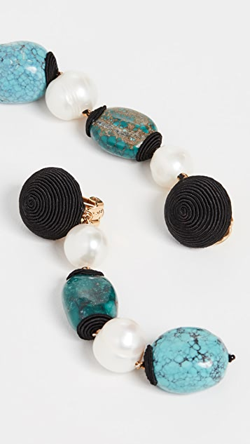 Rebecca De Ravenel Long Treasures Earrings