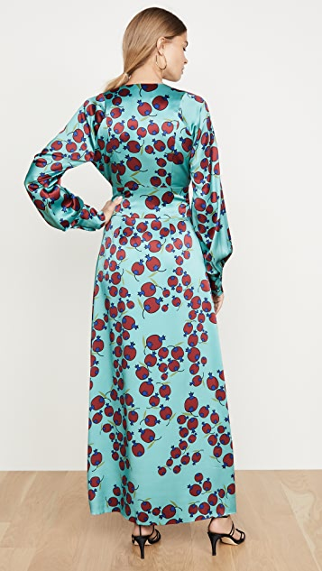 Rebecca De Ravenel Claire Belted Wrap Dress