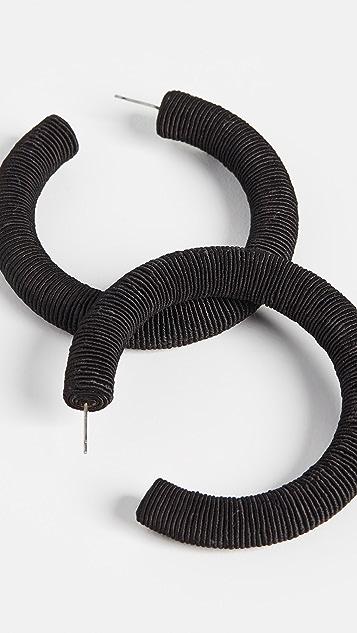 Rebecca De Ravenel Классические крупные серьги-кольца