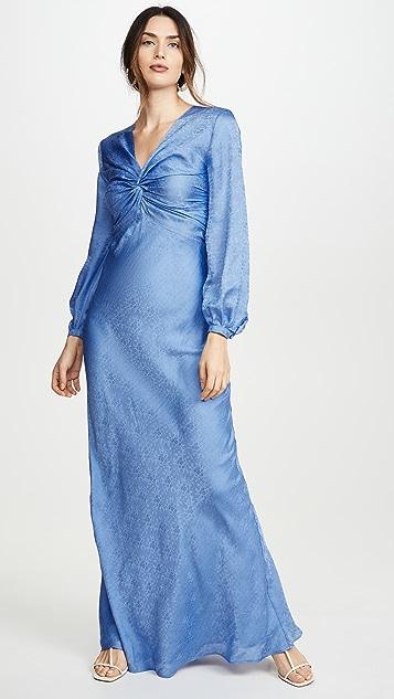 Rebecca De Ravenel Вечернее платье с узлами Sienna