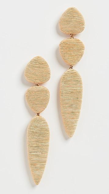 Rebecca De Ravenel Jacaranda Earrings