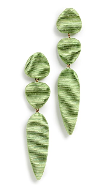 Rebecca De Ravenel Jacaranda Earrings