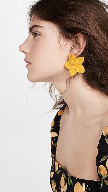 Rebecca De Ravenel Frangipani Earrings