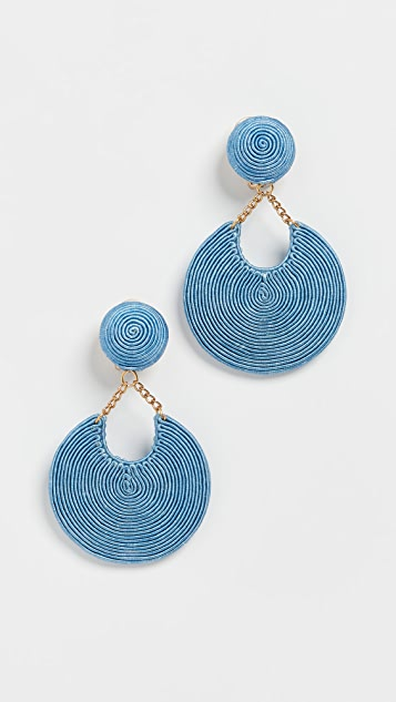 Rebecca De Ravenel La Parisienne Earrings