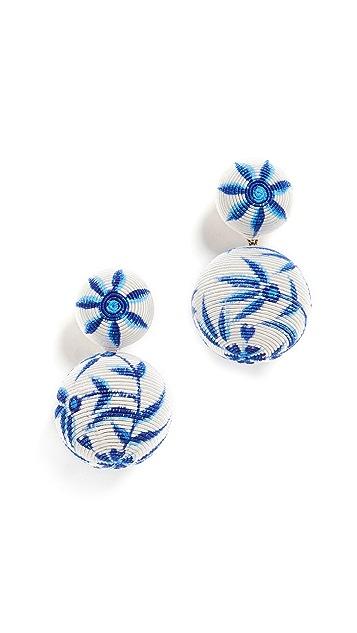 Rebecca De Ravenel Chinoiserie BonBons Earrings