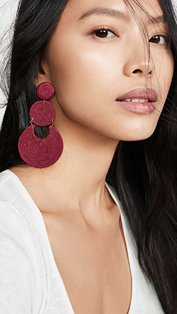 Rebecca De Ravenel La Tropezienne Earrings