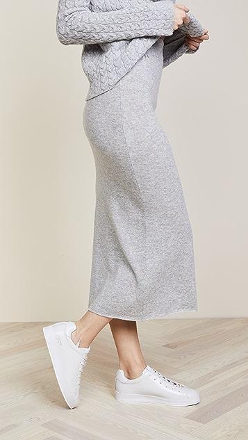 37858abceae4c3 Ryan Roche Cashmere Long Skirt | SHOPBOP