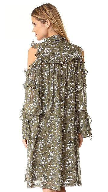 Robert Rodriguez Floral Dress