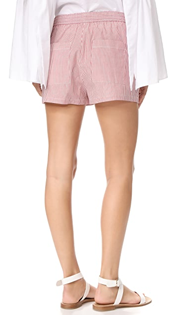 Robert Rodriguez Striped Shorts