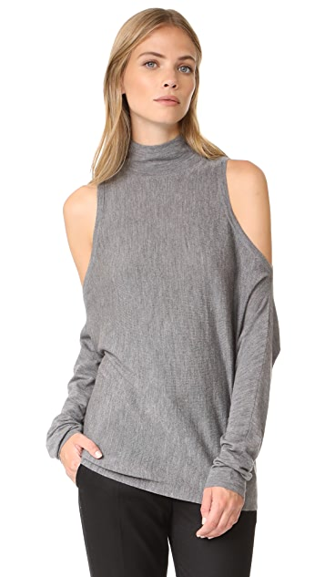 Robert Rodriguez Merino Sweater Cold Shoulder