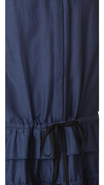 Robert Rodriguez Ruffle Tiered Dress