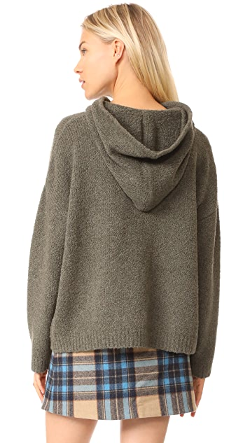 Robert Rodriguez Reversible Hooded Pullover
