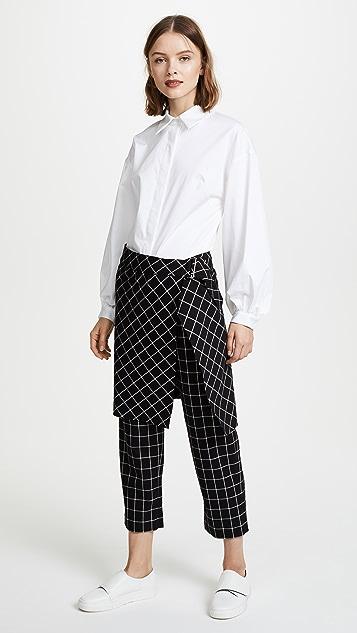 Robert Rodriguez Skirted Pants