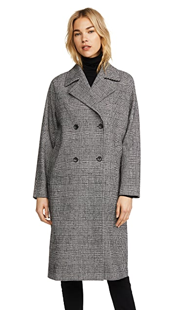 Robert Rodriguez Plaid Coat