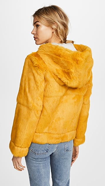 Robert Rodriguez Rabbit Fur Jacket