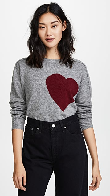 Robert Rodriguez Heart Pullover