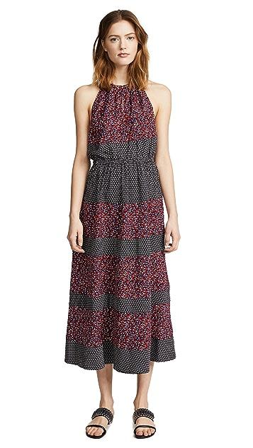 Robert Rodriguez Printed Halter Dress