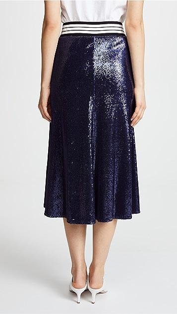 Robert Rodriguez Sequin Skirt