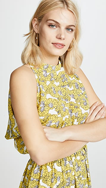Robert Rodriguez Dania Floral Dress