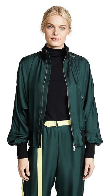 Robert Rodriguez Silk Track Jacket