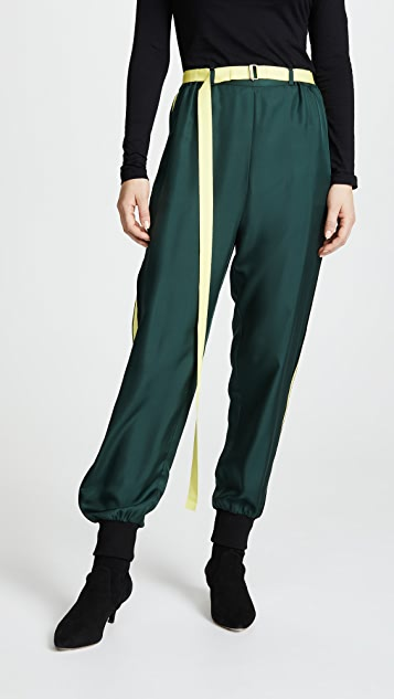 Robert Rodriguez Silk Track Pants