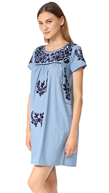 Roller Rabbit Parc Embroidered Dress