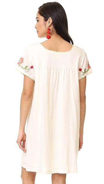 Roller Rabbit Leetal Embroidered Dress