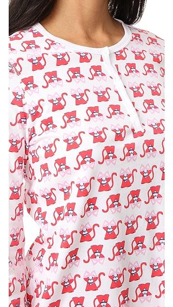Roller Rabbit Gato PJ Set