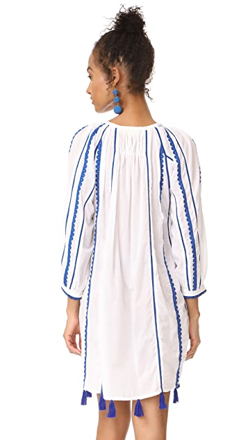 Roller Rabbit Pavi Embroidered Dress