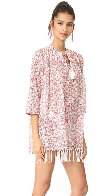 Roller Rabbit Sanav Serafina Tunic with Fringes