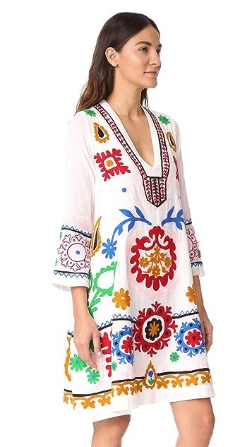 Roller Rabbit Mara Embroidered Dress