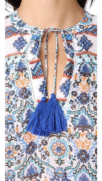 Roller Rabbit Serafina Tunic with Tassels