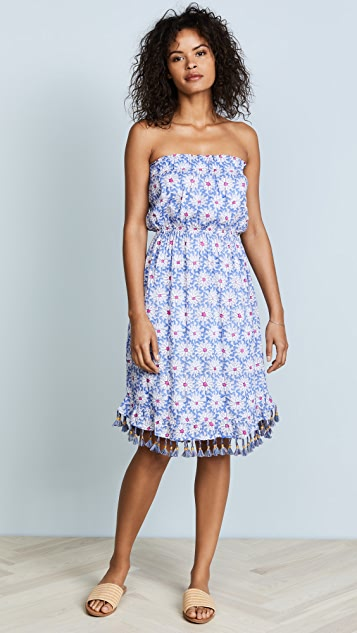 Roller Rabbit Dulce Strapless Dress