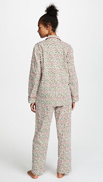 Roller Rabbit Holly Berry PJ Set