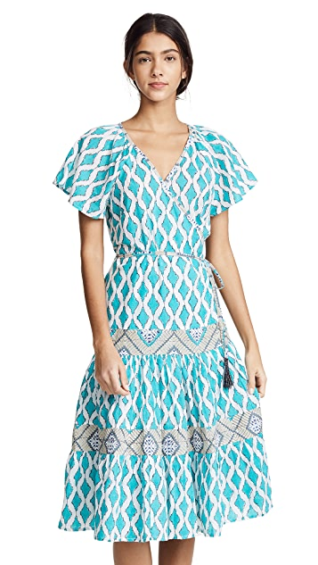 Roller Rabbit Lantern Zineb Wrap Dress