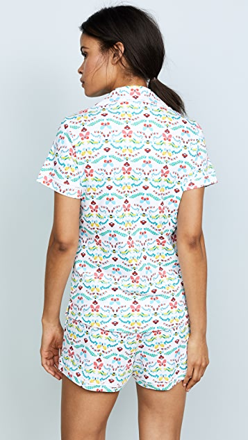 Roller Rabbit Pollen Pajama Set