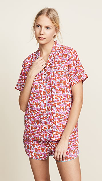 Roller Rabbit Joana Lulu Short Pajama Set - Pink