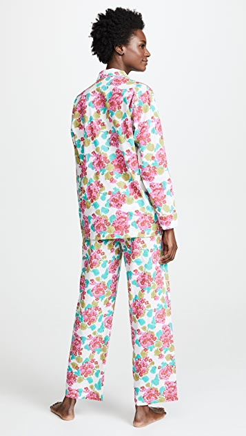 Roller Rabbit Geraniums Loungewear Pajama Set