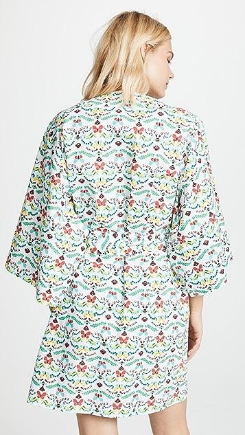 Roller Rabbit Pollen Short Kimono