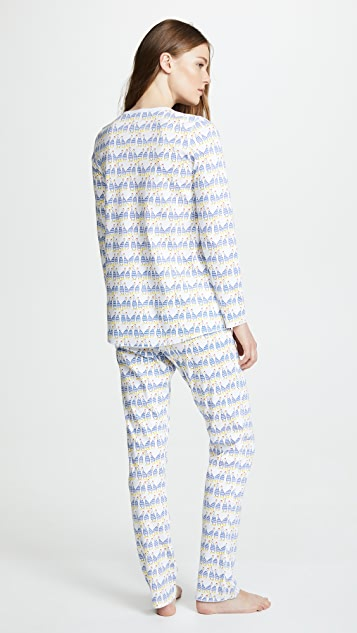 Roller Rabbit Sissou Pajama Set