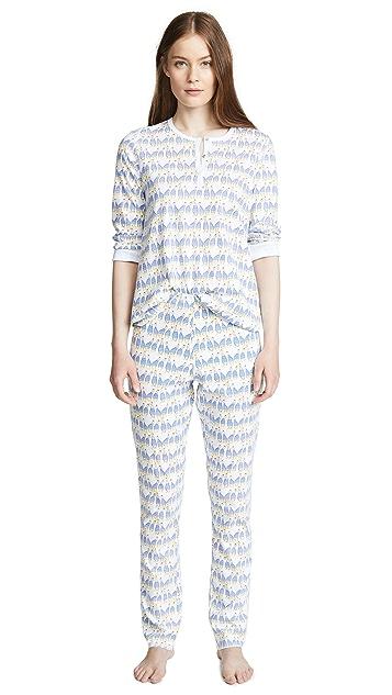 Roller Rabbit Sissou Pajama Set