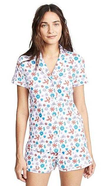 Roller Rabbit Posei Polo Pajama Set