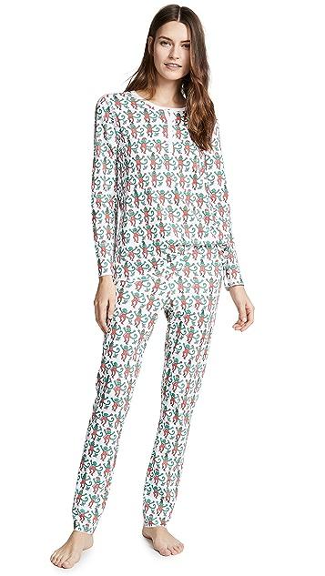 Roller Rabbit Monkey Mas Pajamas
