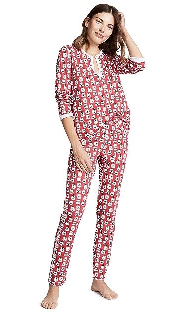 Roller Rabbit Bearry Holidays Pajamas