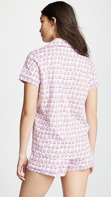 Roller Rabbit Love Birds Pajama Set