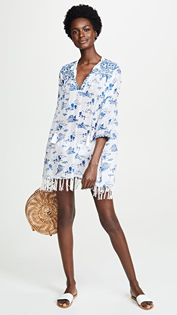 Roller Rabbit Surf Toile Serafina Tunic