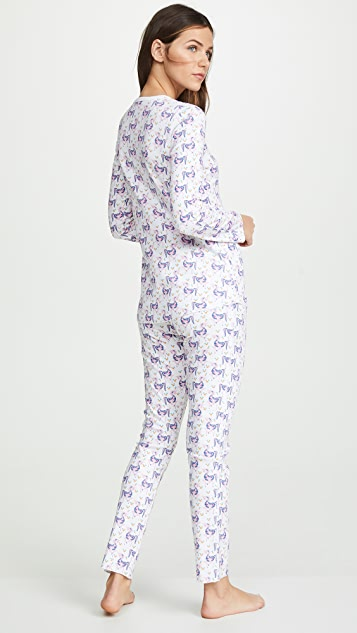 Roller Rabbit Gwen the Unicorn PJ Set