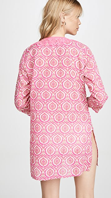 Roller Rabbit Medallion Inez Kurta